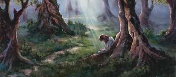 Personal Prayer – Learning from Gethsemane